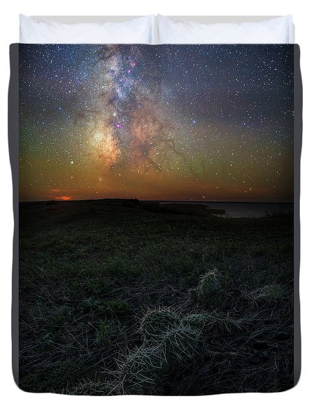 Duvet Cover featuring the photograph Pricked  by Aaron J Groen