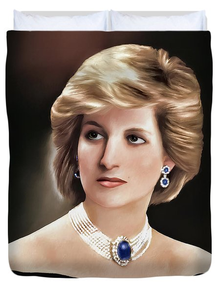 Princess Diana Duvet Cover