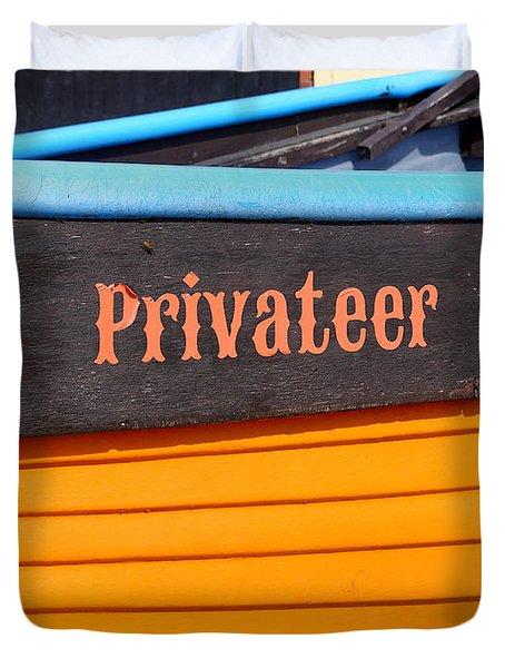 Privateer Duvet Cover