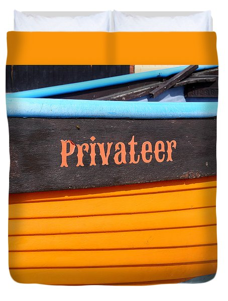 Privateer Duvet Cover