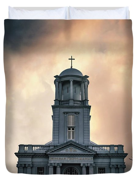 Psalm Before The Storm Duvet Cover