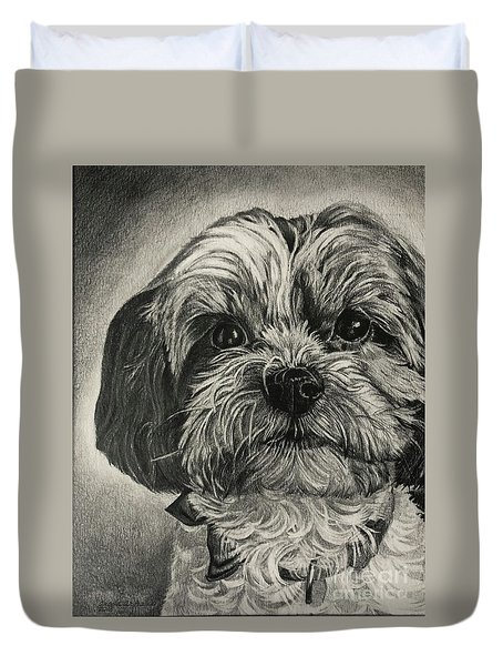 Puppers Duvet Cover