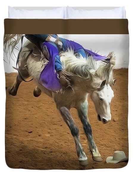 Purple Rein Duvet Cover
