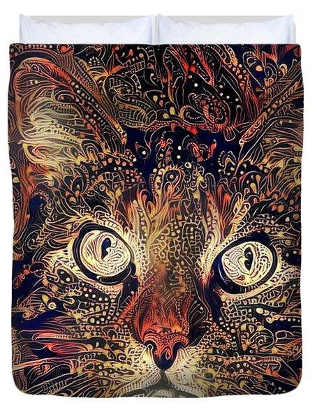 Mystic In Paisley Duvet Cover