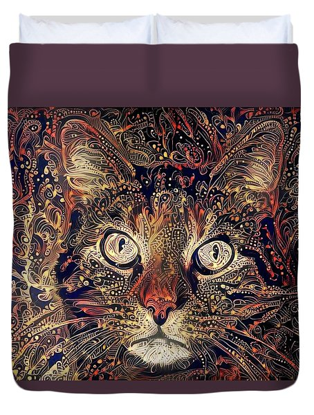 Mystic In Paisley Duvet Cover