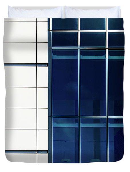 Quadrant Lines Duvet Cover