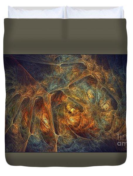 Quantum Beasties Duvet Cover