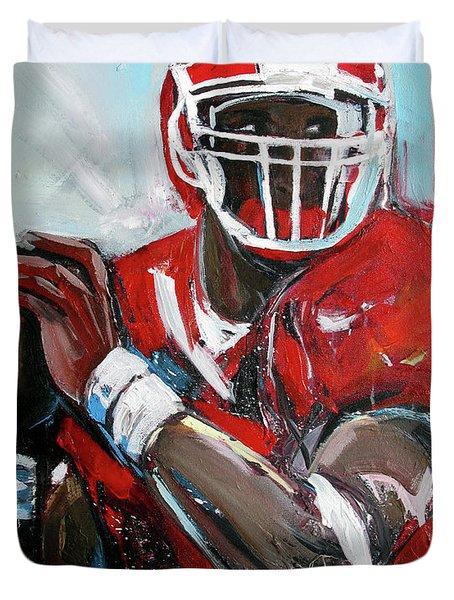 Quarterback Duvet Cover