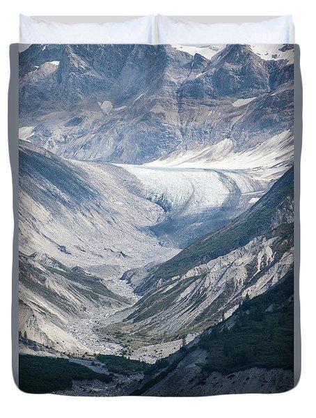 Queen Inlet Glacier Duvet Cover
