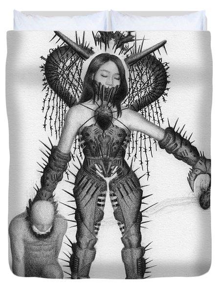 Queen Of Hearts - Artwork Duvet Cover