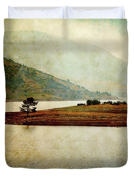 Duvet Cover featuring the photograph Quiet Before The Storm by Milena Ilieva