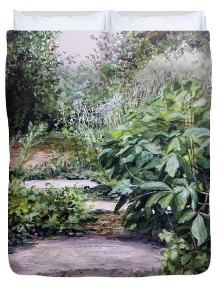 Quiet Path Duvet Cover