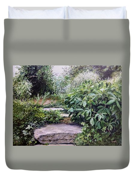 Quiet Path Duvet Cover