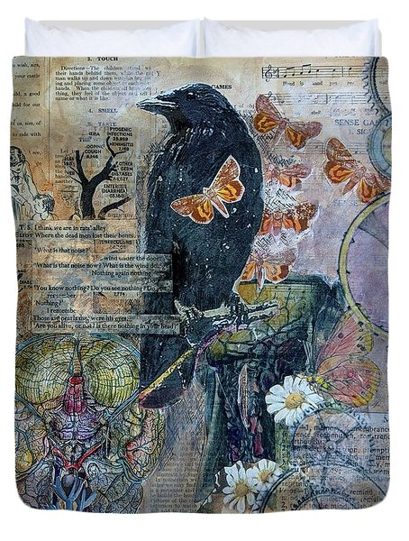 Quoth The Raven Duvet Cover