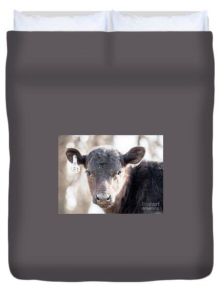 R181 Cow Duvet Cover