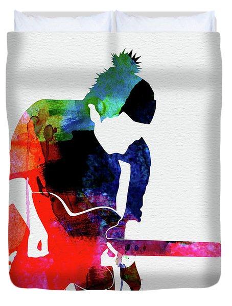 Radiohead Watercolor Duvet Cover