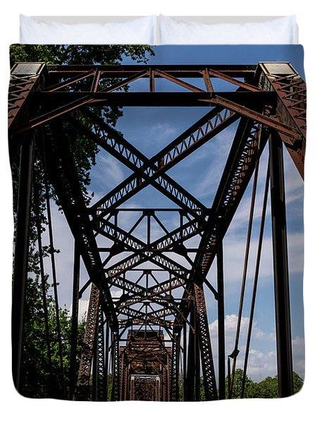 Railroad Bridge 6th Street Augusta Ga 2 Duvet Cover