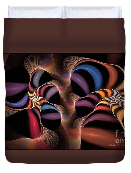 Rainbow Lillies-1 Duvet Cover