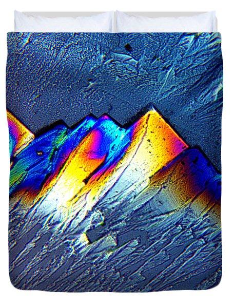 Rainbow Mountains Duvet Cover