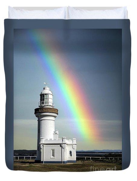 Rainbow Shores Duvet Cover