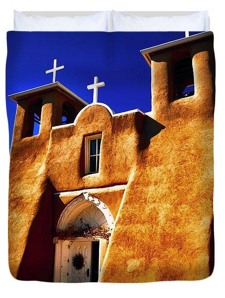 Ranchos Church  Xxxii Duvet Cover