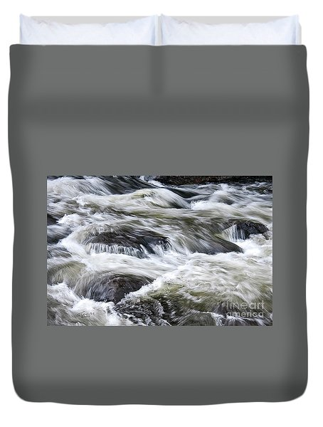 Rapids At Satans Kingdom Duvet Cover
