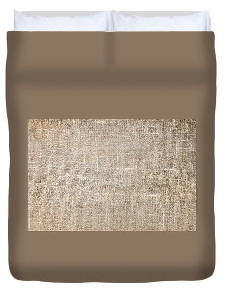Raw Natural Linen Duvet Cover