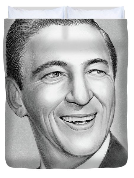Ray Bolger Duvet Cover