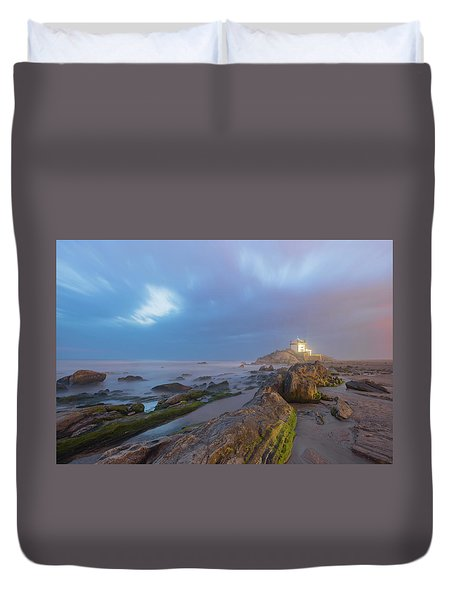 Duvet Cover featuring the photograph Ray Of Light by Bruno Rosa