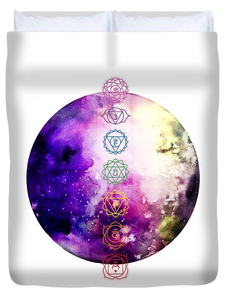 Reach Out To The Stars Duvet Cover