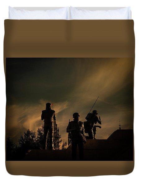 Reconciliation Duvet Cover