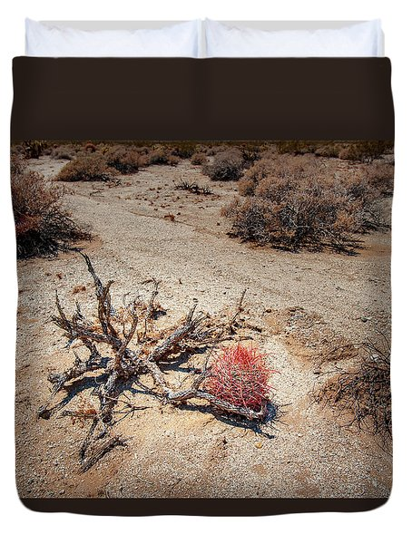Red Barrel Cactus Duvet Cover