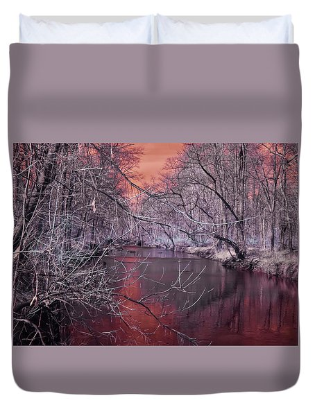 Red Creek Duvet Cover