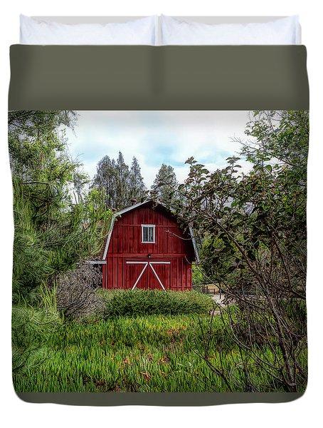 Red House Over Yonder Duvet Cover