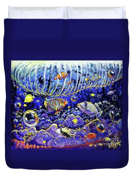 Reef Break Duvet Cover