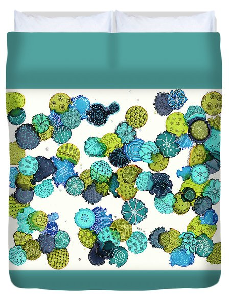 Reef Encounter #5 Duvet Cover