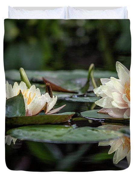 Delicate Reflections Duvet Cover