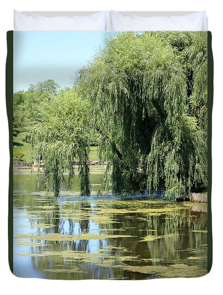 Reflections From Mother Willow Duvet Cover