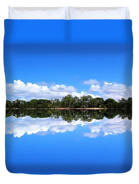 Reflective Lake Patricia Duvet Cover