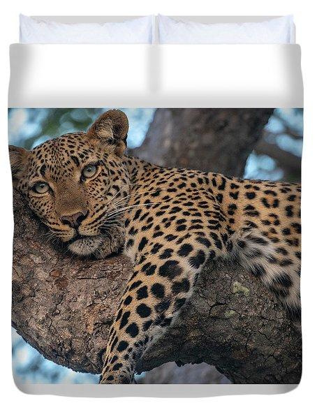 Relaxed Leopard Duvet Cover