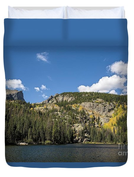 Relaxing Afternoon At  Bear Lake Duvet Cover
