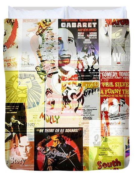 Remembering Broadway Duvet Cover