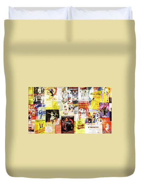Remembering Broadway Duvet Cover