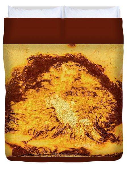 Rhapsody In Yellow Duvet Cover