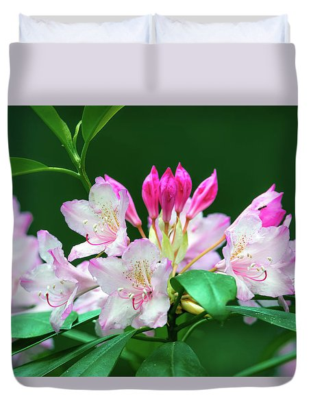 Rhododendron 2 Duvet Cover