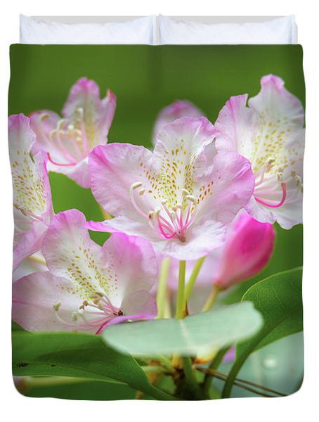 Rhododendron 3 Duvet Cover