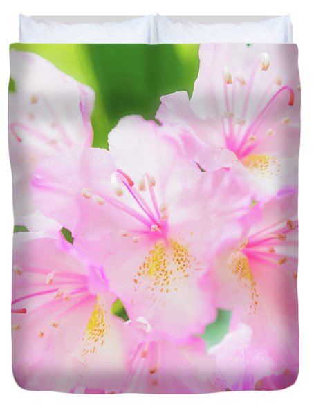 Rhododendron 4 Duvet Cover