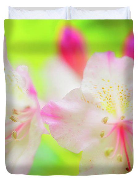 Rhododendron 5 Duvet Cover