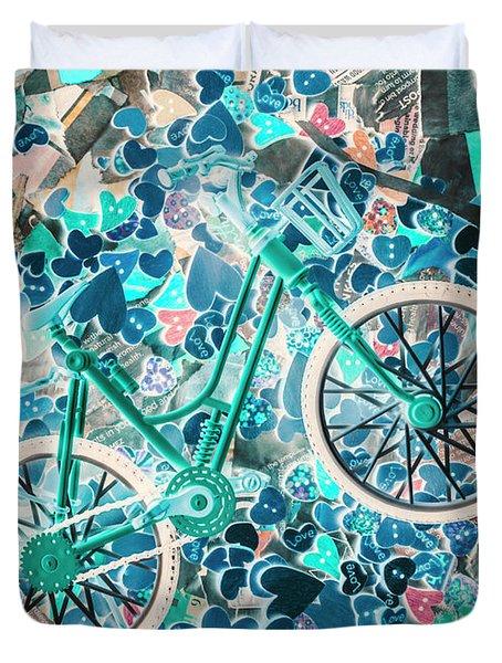 Ride Of Romance Duvet Cover