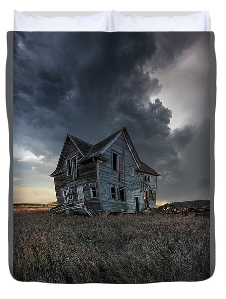 Duvet Cover featuring the photograph Right Where It Belongs by Aaron J Groen